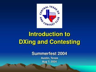 Summerfest 2004 Austin, Texas Aug 7, 2004
