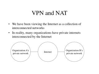 VPN and NAT