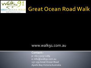 Great Ocean Walk Accommodation