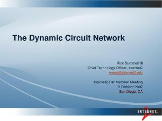 The Dynamic Circuit Network