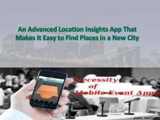 An Advanced Location Insights App That Makes It Easy to Find