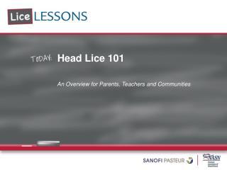 Head Lice 101