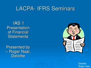 LACPA- IFRS Seminars