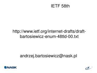 andrzej.bartosiewicz@nask.pl