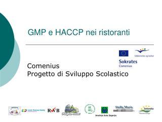 GMP e HACCP nei ristoranti
