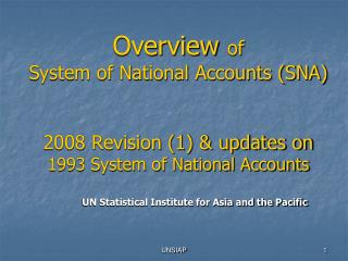UN Statistical Institute for Asia and the Pacific