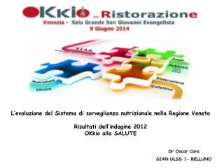 L'evoluzione del Sistema di sorveglianza nutrizionale nella Regione Veneto