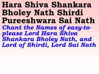 1111_Ver06L_Hara Shiva Shankara Bholey Nath Shirdi Pureeshwara Sai Nath