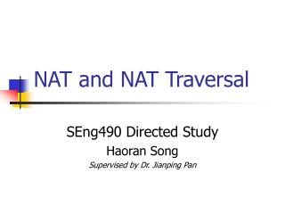 NAT and NAT Traversal