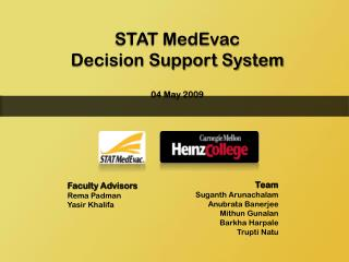 STAT MedEvac  Decision Support System 04 May 2009