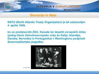 Slovenija in Nato