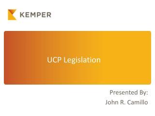 UCP Legislation
