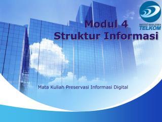 Modul 4 Struktur Informasi