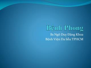 Bệnh Phong