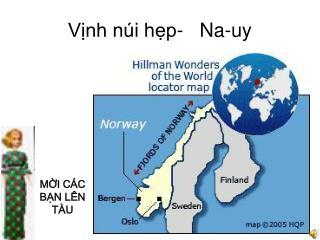 Vịnh núi hẹp-   Na-uy