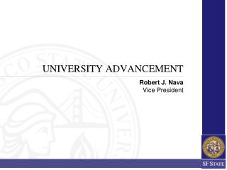 UNIVERSITY ADVANCEMENT