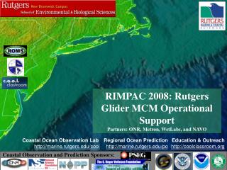 Coastal Ocean Observation Lab marine.rutgers/cool