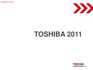 TOSHIBA 2011