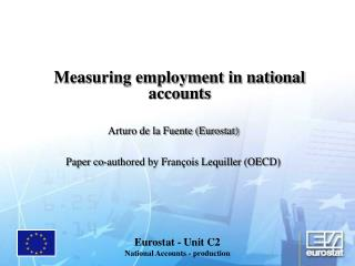 Measuring employment in national accounts