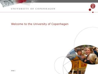 Welcome to the University of Copenhagen