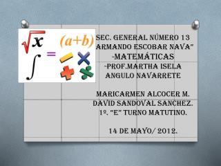 Resuelve  los siguientes problemas, planteando ecuaciones de primer grado.