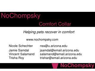 NoChompsky Comfort Collar