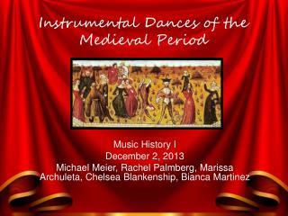 Instrumental Dances of the Medieval Period