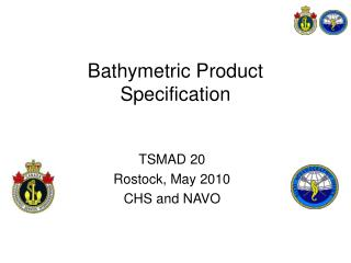 Bathymetric Product Specification