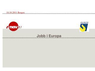 Jobb i Europa