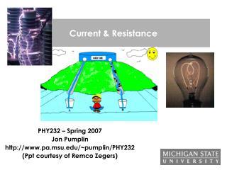 Current & Resistance