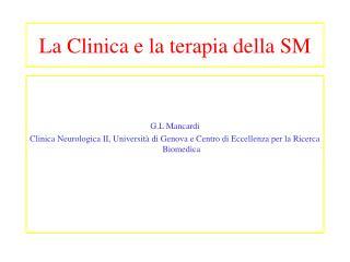La Clinica e la terapia della SM