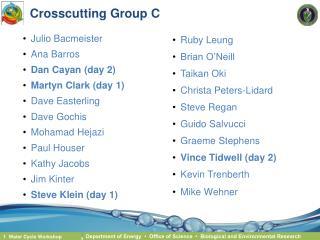 Crosscutting Group C