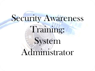 Security Awareness security.nsu