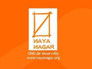 ONG de desarrollo nayanagar