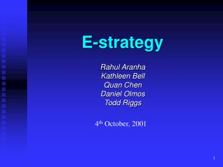 E-strategy