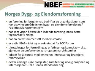Norges Bygg- og Eiendomsforening