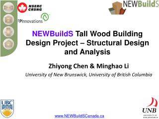 NEWBuildS  Tall Wood Building Design Project – Structural Design and Analysis