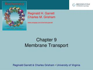 Chapter 9 Membrane Transport