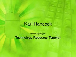 Kari Hancock