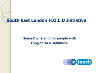 South East London H.O.L.D Initiative