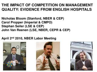 THE IMPACT OF COMPETITION ON MANAGEMENT QUALITY: EVIDENCE FROM ENGLISH HOSPITALS