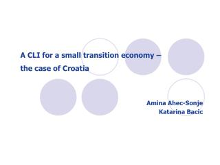 the economic transition of croatia