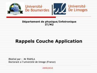 Université De Boumerdes
