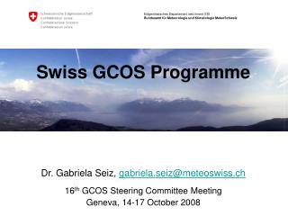 Swiss GCOS Programme