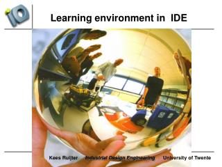 Learning environment in  IDE