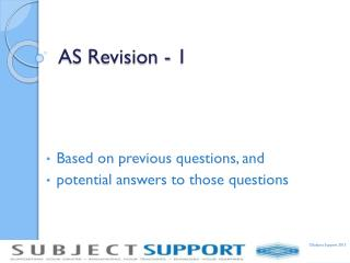 AS Revision - 1