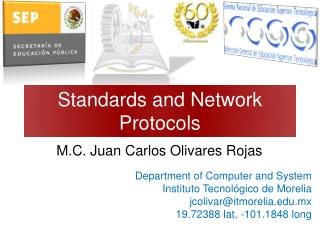 Standards and Network Protocols