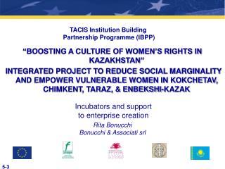 TACIS Institution Building  Partnership Programme (IBPP)