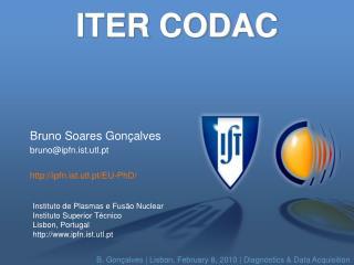 ITER CODAC