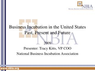 Business Incubation in the United States Past, Present and Future
